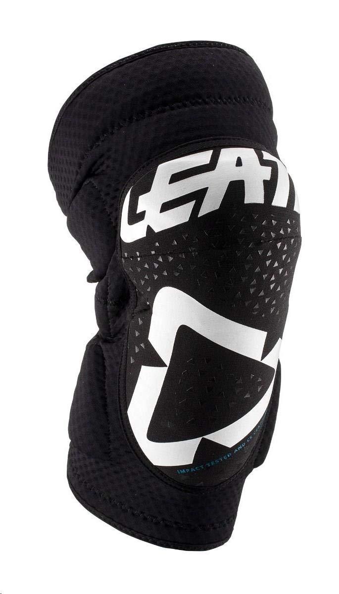 Leatt 3DF 5.0 Knee Guards-White//Black-S//M