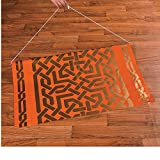 Bargain World Arabian Nights Aisle Runner (With Sticky Notes)