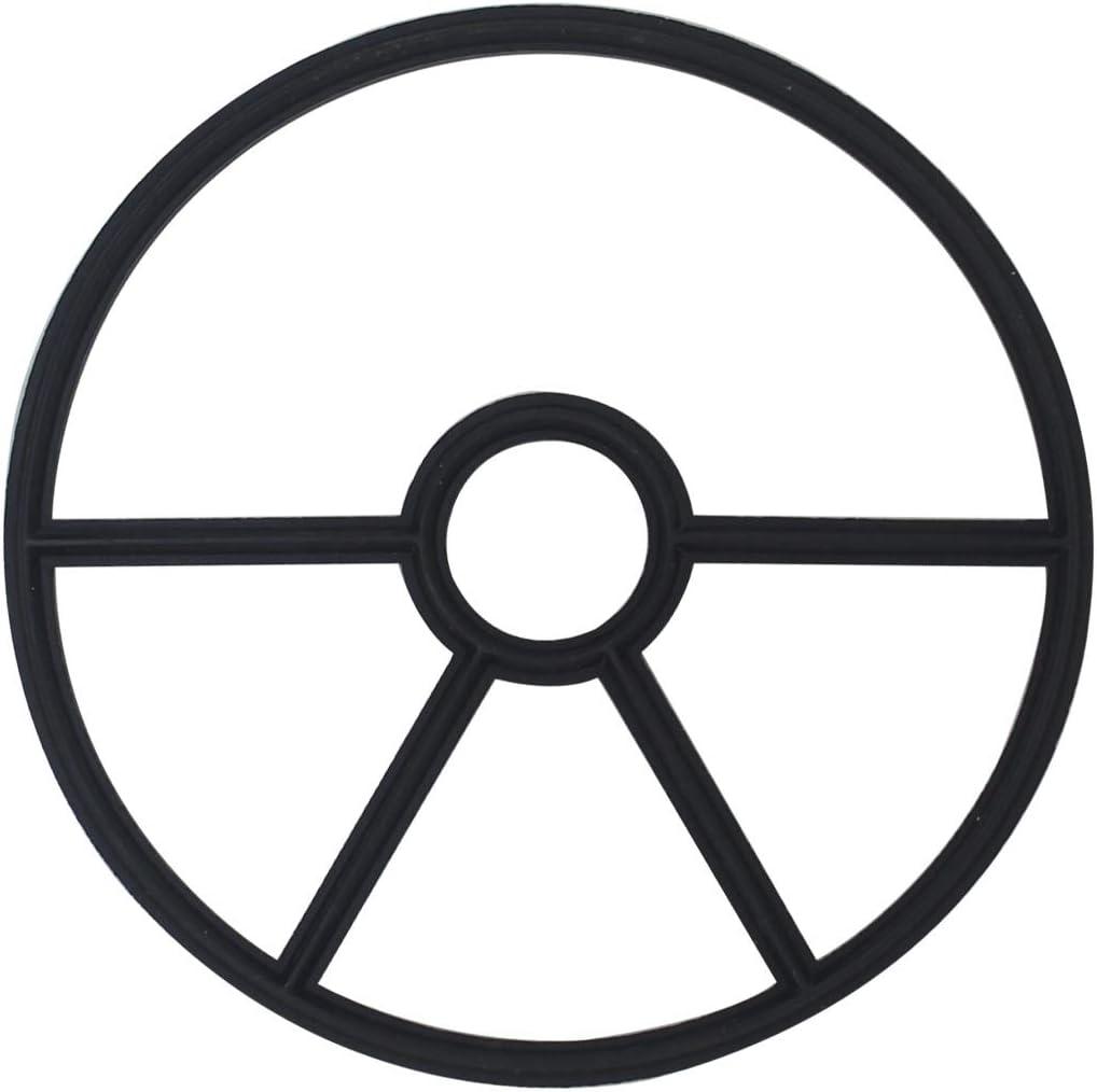 1.5 - OD13.2cm - Blanco 5 Ramas OemClima Junta Estrella v/álvula selectora Juntas Filtro Arena Piscina 4 5 Ramas para v/álvula selectora 1.5 2 Pulgada