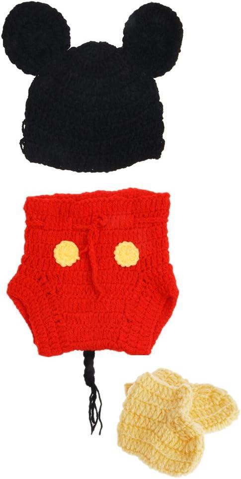 Xiuinserty Accesorios de fotografía para recién nacido, disfraz de ...