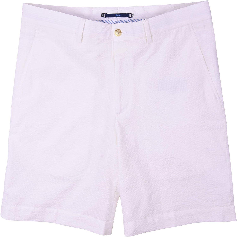 Haspel Seersucker Shorts Comus White At Amazon Men S Clothing Store