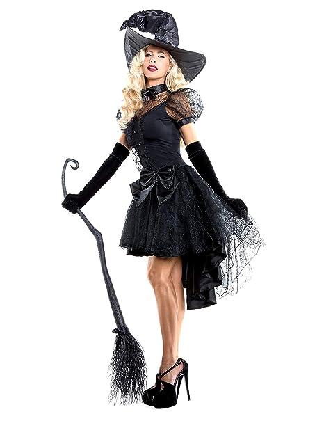 XINSH Disfraz Halloween Bruja Mujer Costume Cosplay Adulto para Carnaval  Navidad Fiesta  Amazon.es  Ropa y accesorios fbc47581429