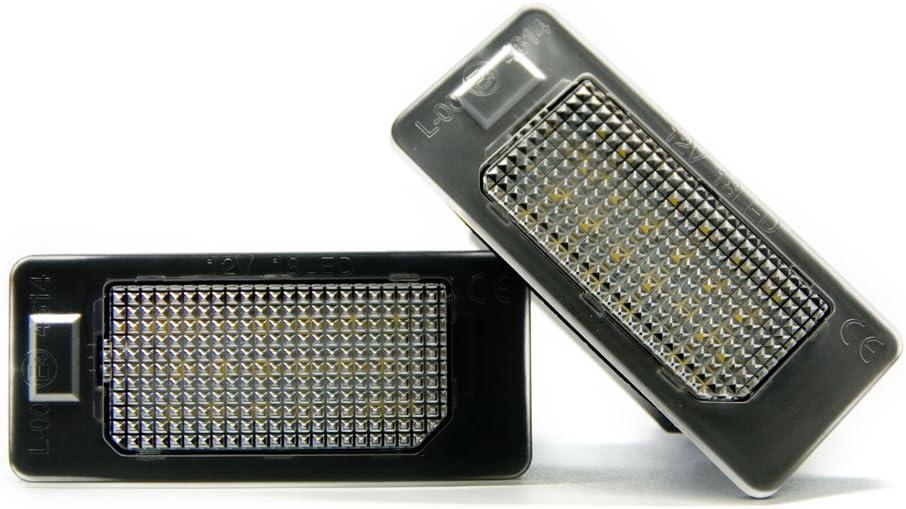 2 x LED Kennzeichen-beleuchtung Xenon Kennzeichen Leuchte Licht
