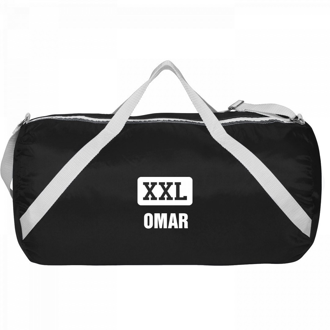 Athletic Gym Bag Omar: Sport Roll Liberty Bag by FUNNYSHIRTS.ORG