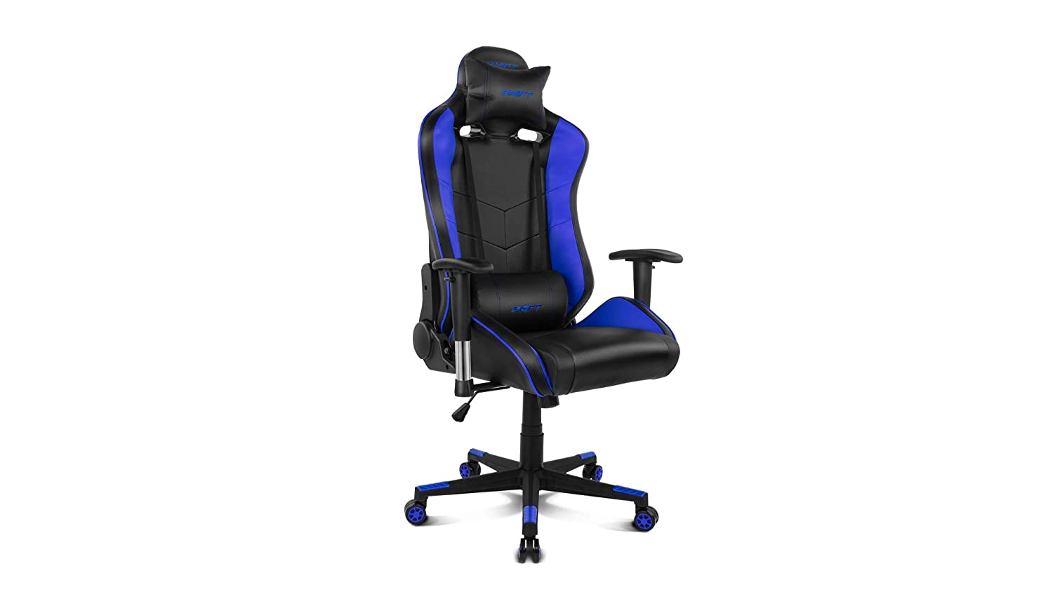 Drift DR85 Silla Gaming, Poliuretano, Azul, Único: Amazon.es ...