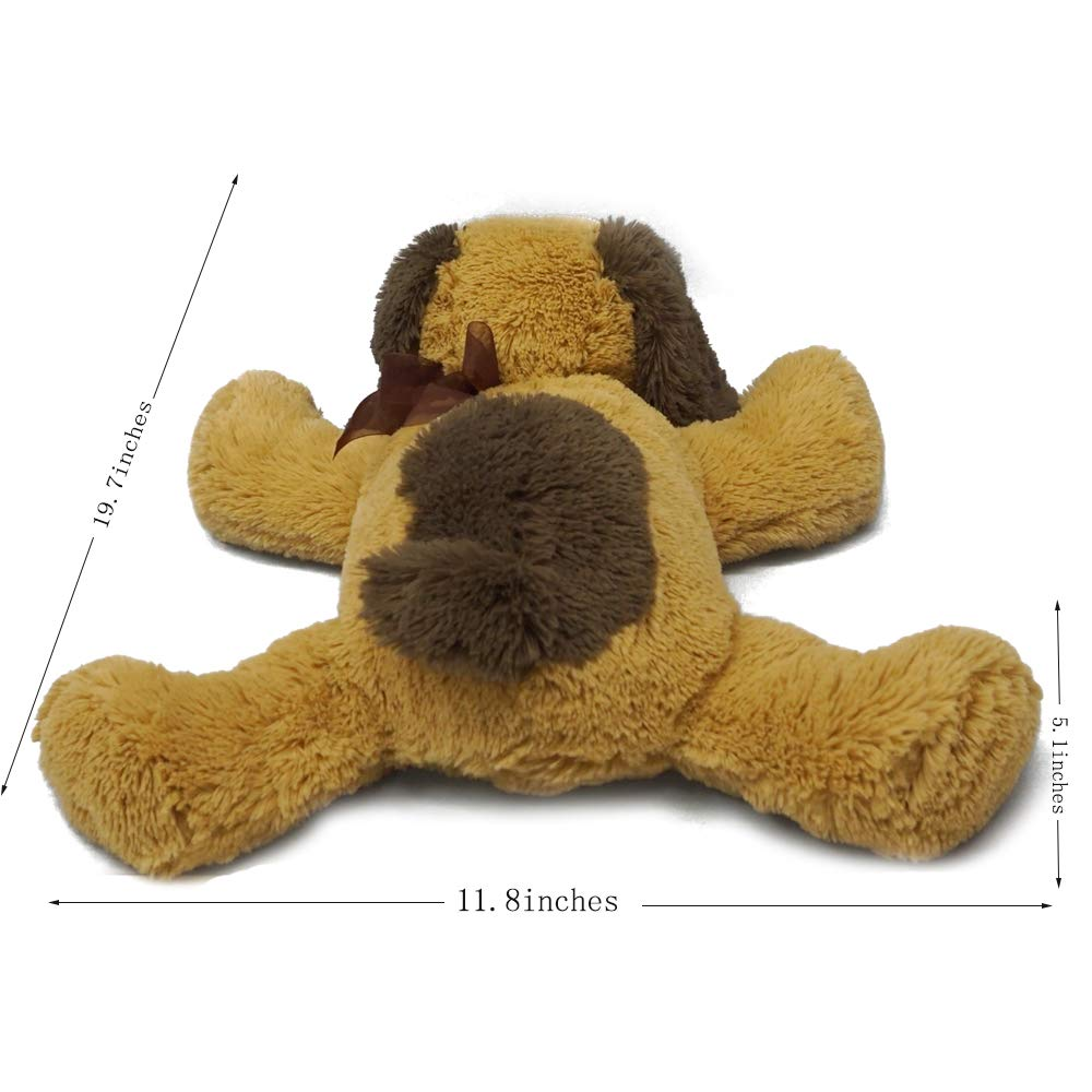 DORE Plush Dog Animal Stuffed Dog Toys Puppy for Child 20\'\',Brown