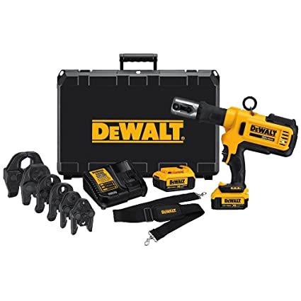Dewalt Dce200m2k 20v Plumbing Pipe Press Tool Kit With Crimping