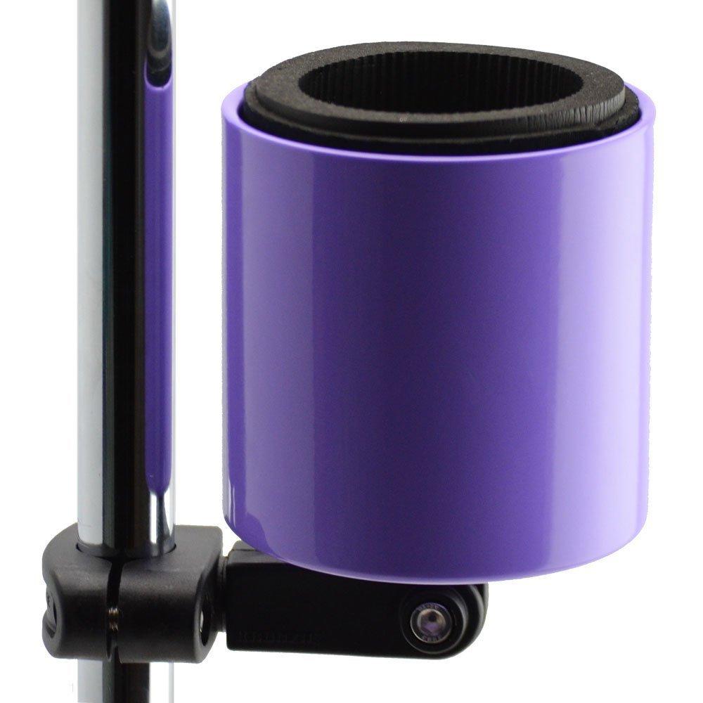Kroozie Kroozercups Deluxe Bicycle Cup Holder 2.0 in Purple