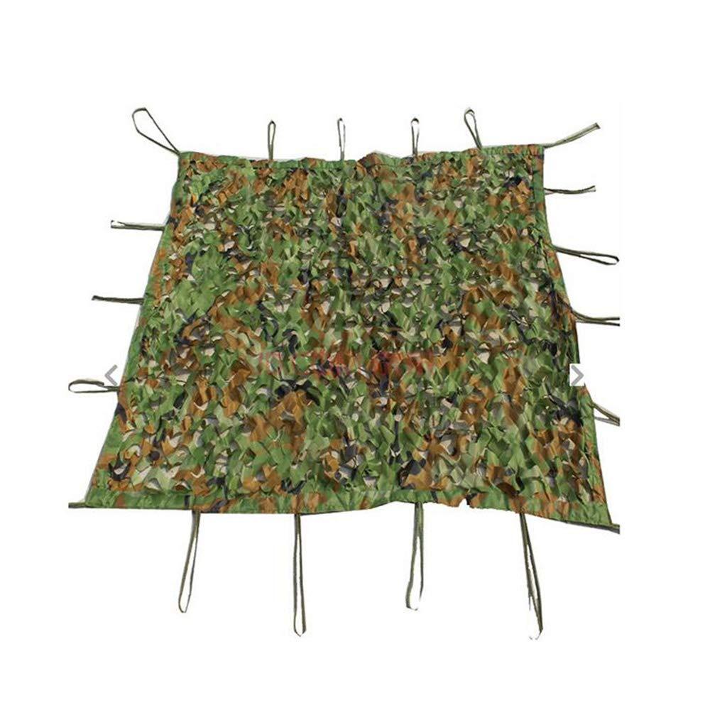 XIAOLIN 網サポート格子が付いているキャンプの軍の射撃の多色の日焼け止めの網のためのデジタル森林迷彩ネット (サイズ さいず : 8X10m) 8X10m  B07Q8RZKB9