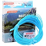 Proberos Fly Line With Weight Forward Enhanced Welded Loop Floating Fly Fishing Line (Blue,2F) For Sale