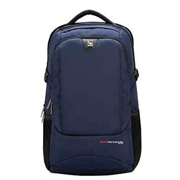 2f90d0368a0d Amazon.com: OIWAS Blue Laptop Backpack Water Resistant Business ...