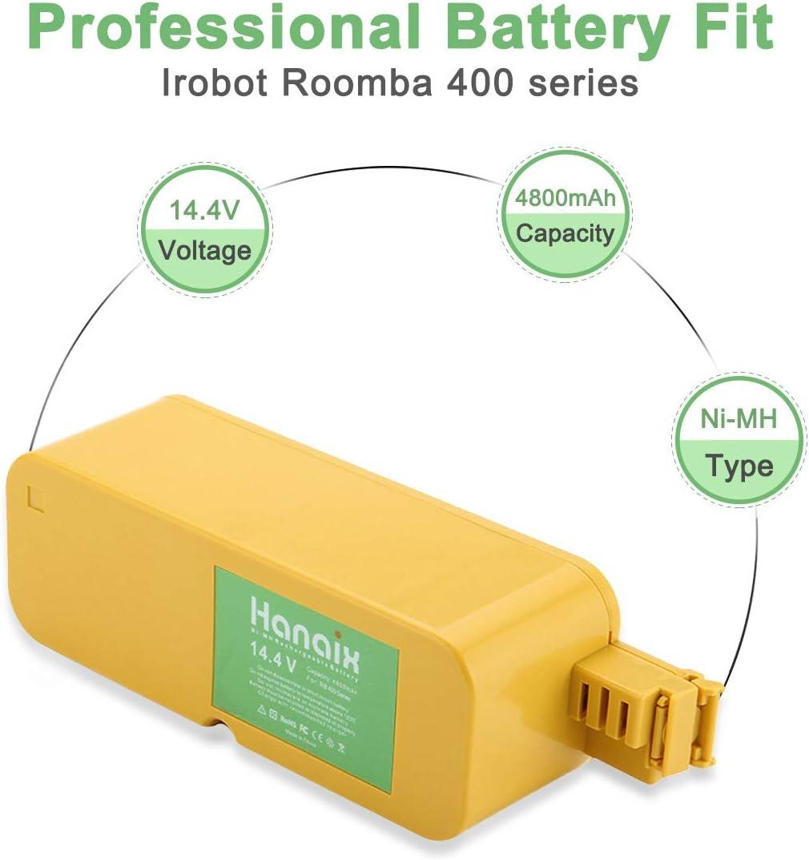 BATTERIA per iRobot Roomba create 4150 ROOMBA 4232 4210 IROBOT ROOMBA 410 4905