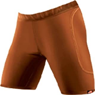product image for WSI Women's Microtech Slider Shorts, Burnt Orange, Small