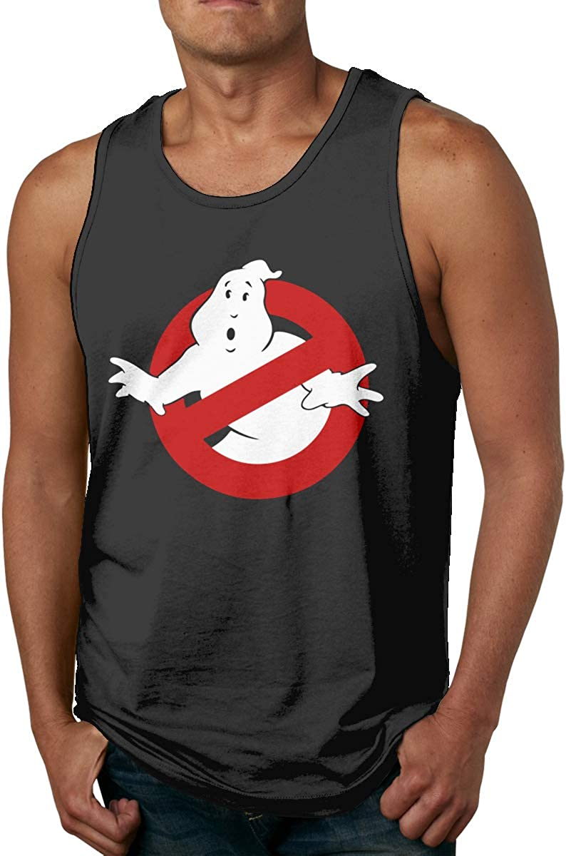 Ghost Busters Not Easy to Shrink Mens Tank Top Shirt