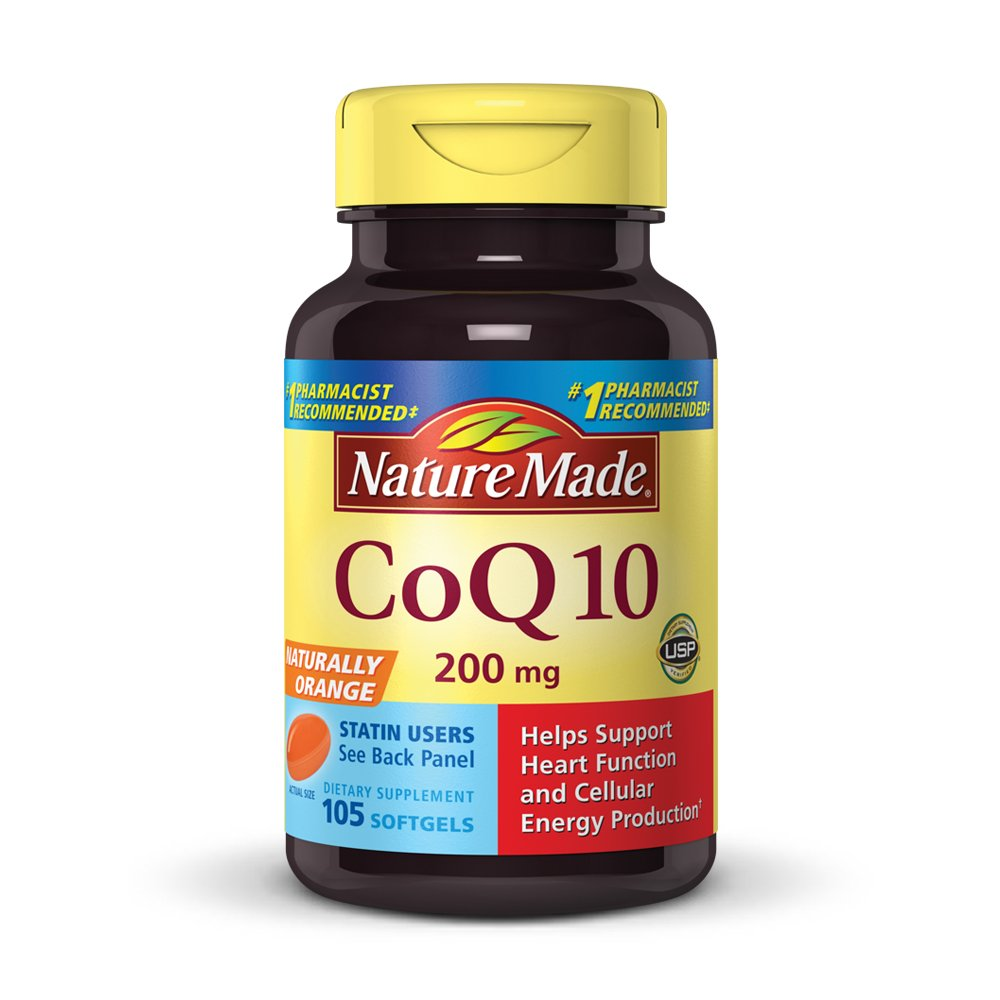 Nature Made CoQ10 (Coenzyme Q 10) Softgel, 105 count