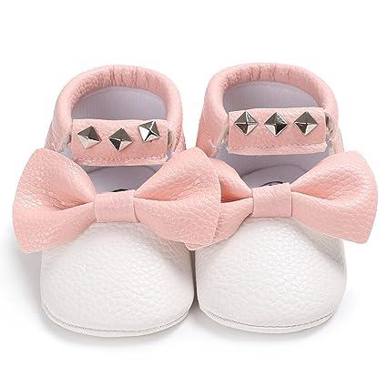 SamMoSon Zapatos de bebé Invierno Antideslizante Primeros Pasos ...