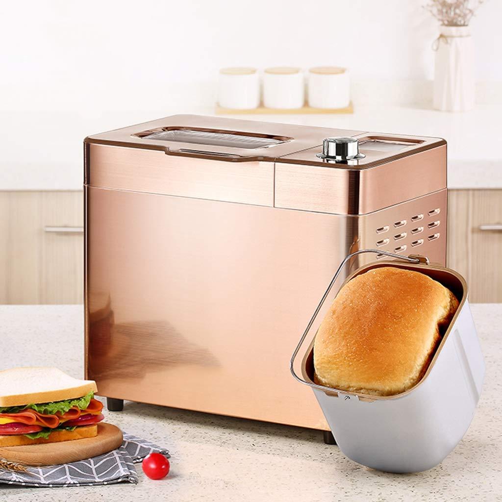 La máquina del Pan, máquina de Pan de Oro, Puede Hacer el Pan, amasadora de múltiples Funciones casera, máquina del Desayuno, Barbacoa de asación, ...