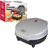 Quest 35640 Dual Maker Electric-Easy Clean Non-Stick Cooking Plate-Makes Healthy Omelettes, Scrambled & Fried Eggs-Featuring Ready Indicator Light & Cool Touch Handle, 700 W