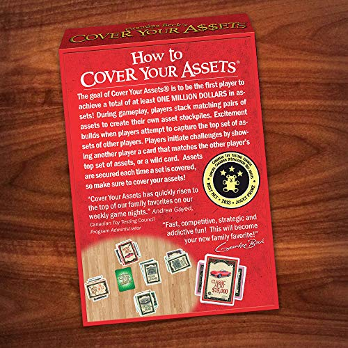 Grandpa Beck's Cover Your Assets: From the creators of Skull King and The Bears and The Bees