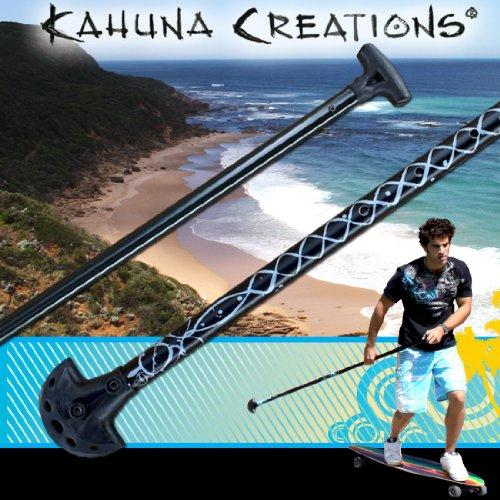 Kahuna Big Stick Adjustable: Pohaku – [Black/Silver], Outdoor Stuffs