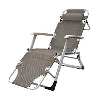 Amazon.com: Silla reclinable plegable, reclinable ...