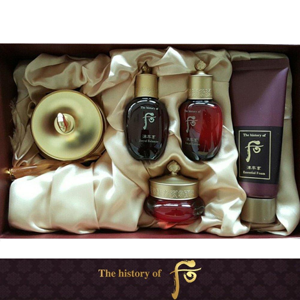 【フー/The history of whoo] Whoo后(フー) 津率享(ジンユルヒャン) アイクリーム セット/JINYUL EyeCream SET+[Sample Gift](海外直送品)   B01MA49BQP