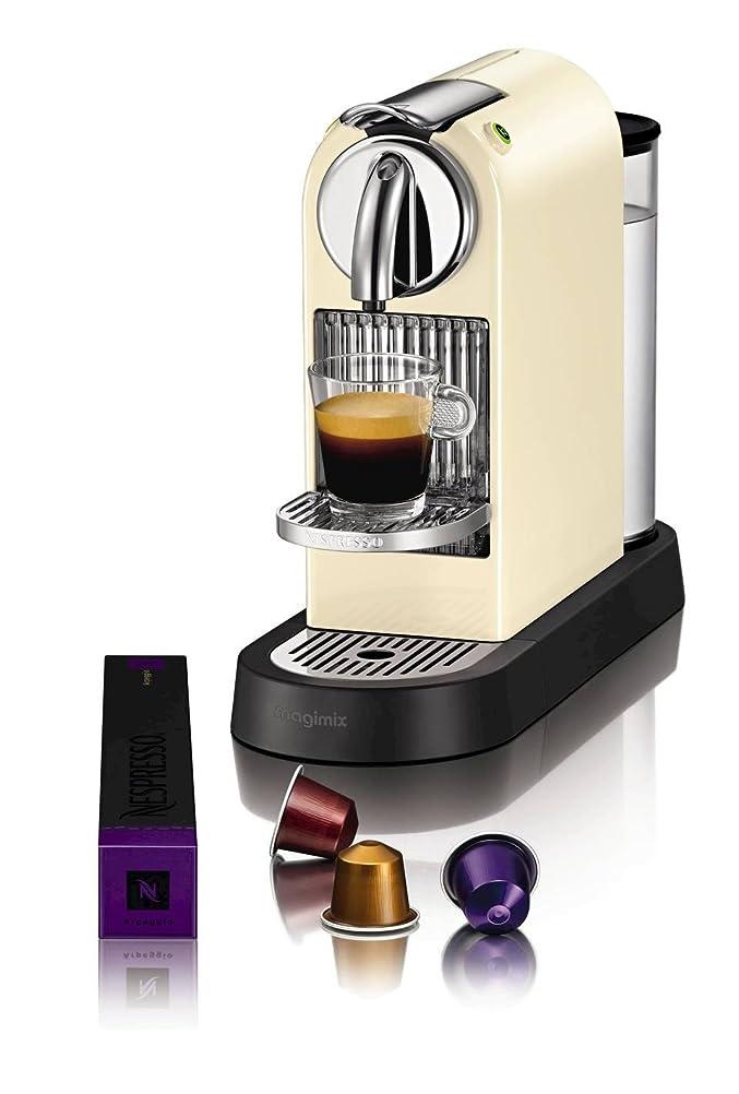 Nespresso Citiz Coffee Machine, Cream by Magimix: Amazon.co.uk ...