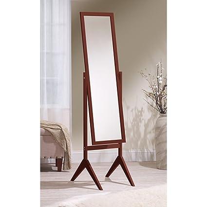 Amazon.com: Mirrotek Adjustable Free Standing Tilt Full Length Body ...