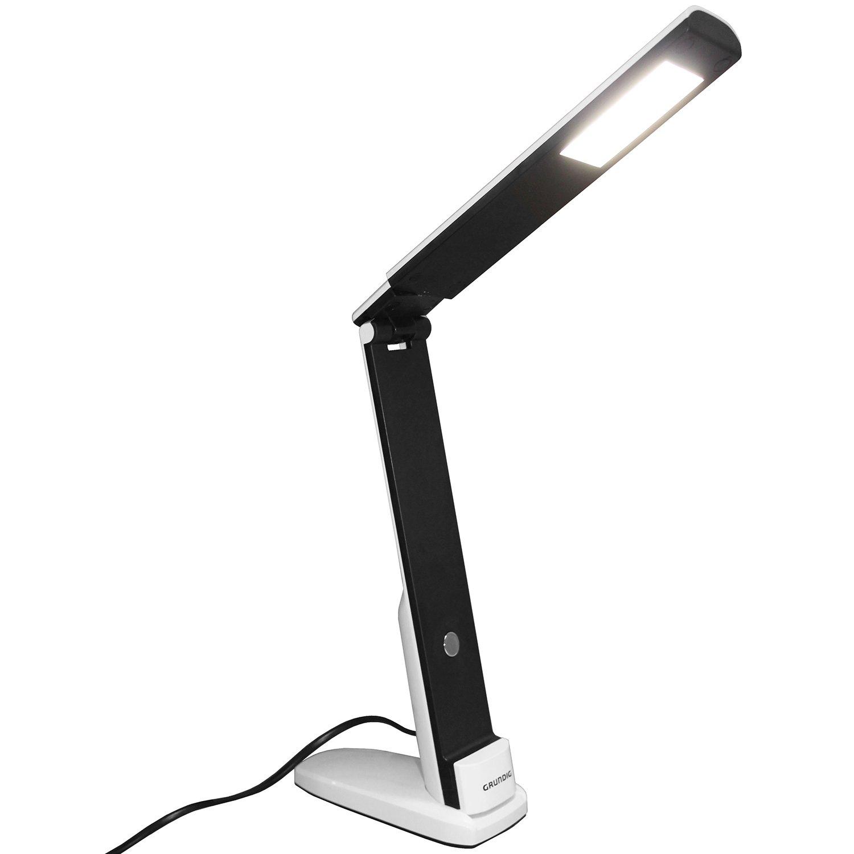 Lampada da tavolo pieghevole, 27LED, 5W, 400Lumen, Bianco/Nero, lampada da scrivania ufficio lampada ufficio lampada da tavolo lampada da tavolo Multistore 2002