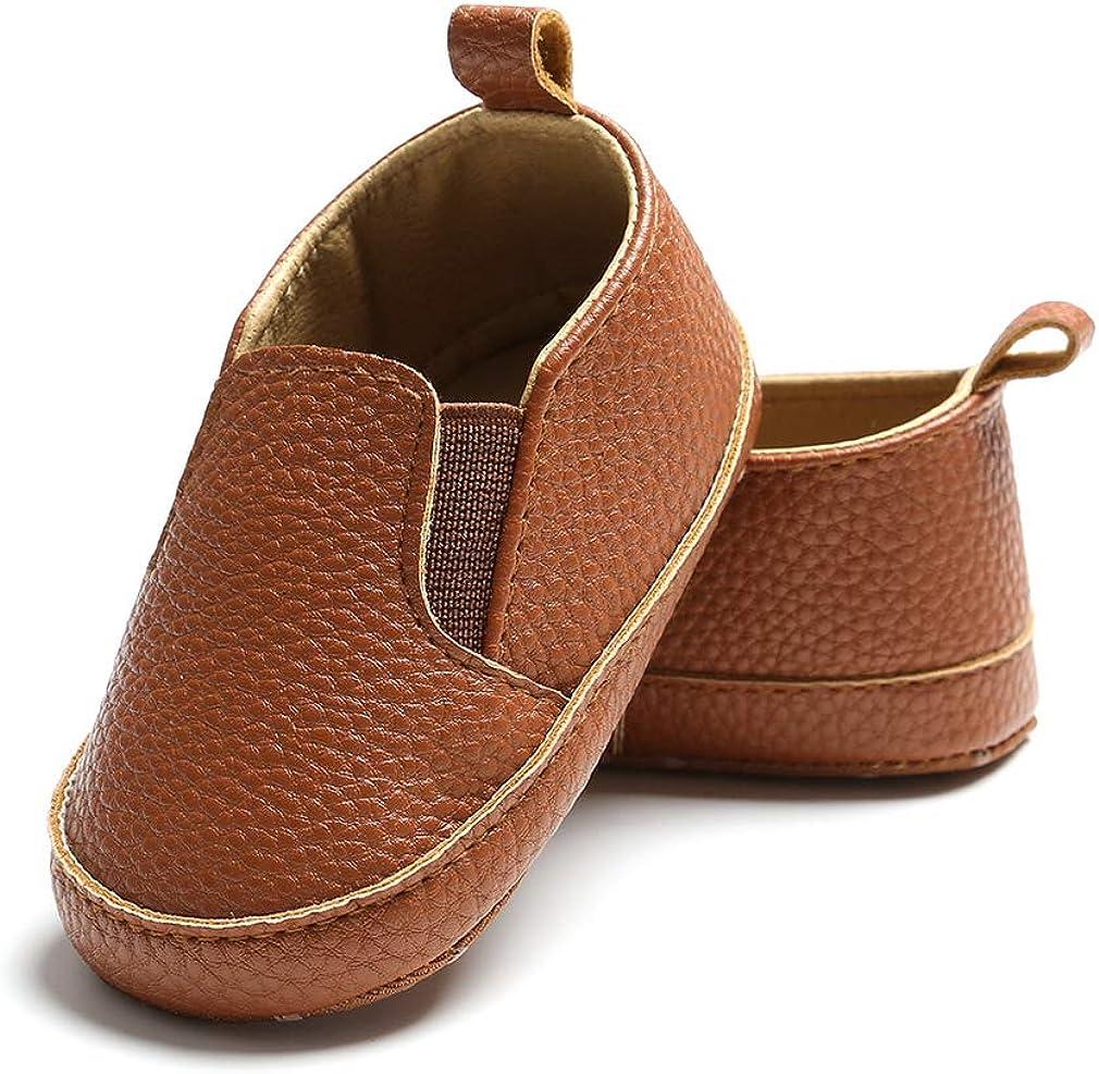 Lukis Chaussure Premier Pas B/éb/é Gar/çon Chaussures B/éb/é en Cuir Souple Chaussons B/ébe Fille Antid/érapant Chaud Hiver Automne