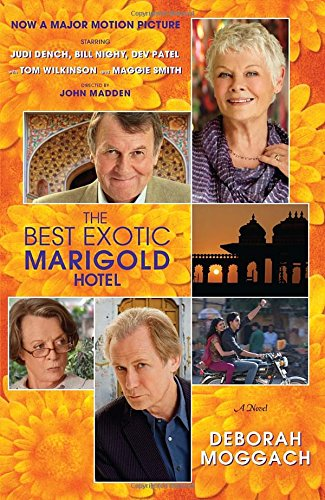 Book cover for The Best Exotic Marigold Hotel