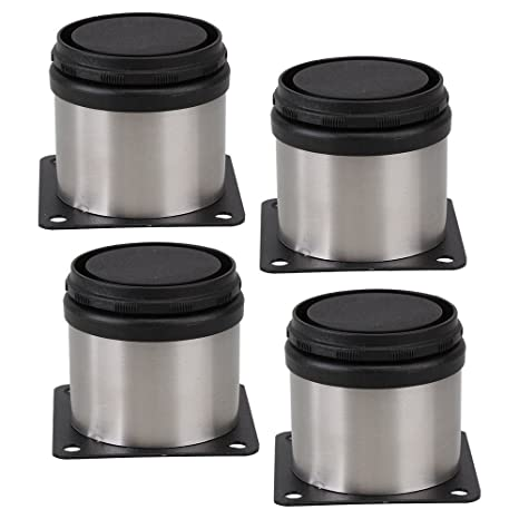 Amazon.com: 4pcs Muebles Gabinete ajustable Pies de cocina ...