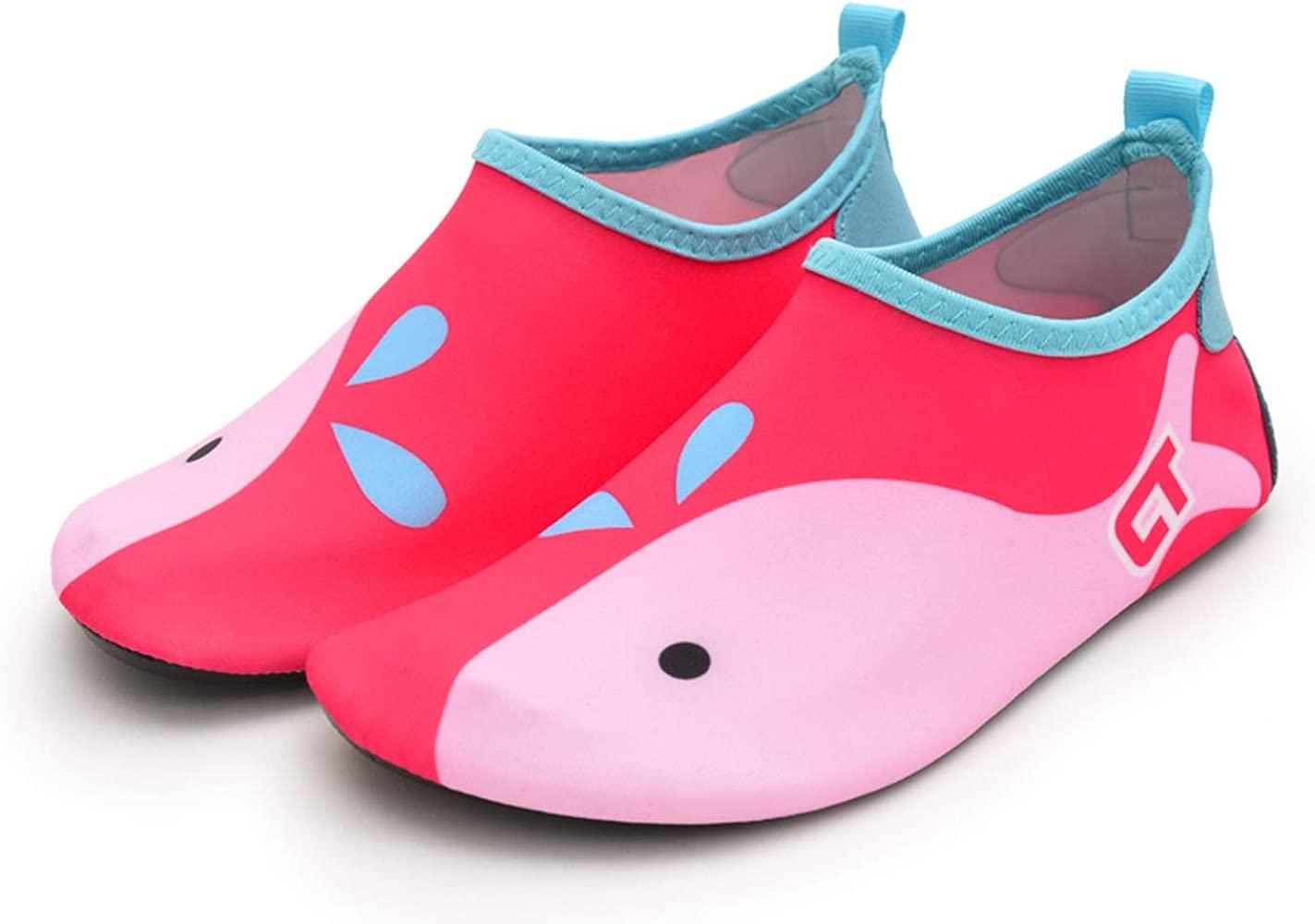 Zapatos para Niño Niña Zapatos de Playa Bebe Zapatillas de Piscina Escarpines Calzado para Agua
