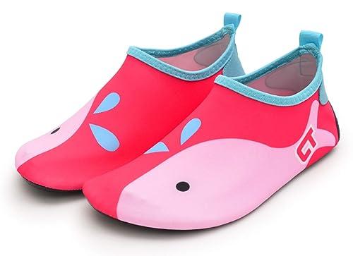 mejor servicio c3a4a 1df82 Zapatos para Niño Niña Zapatos de Playa Bebe Zapatillas de Piscina  Escarpines Calzado para Agua