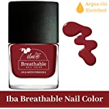 Iba Halal Care Breathable Nail Color, B08 Very Berry, 9ml