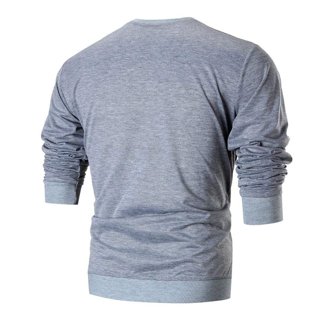 Resplend Sudadera con Estampado de Manga Larga para Hombre Blusa con Estampado de Camiseta con Parte Superior de Top: Amazon.es: Ropa y accesorios