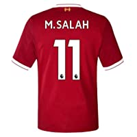 2017/2018 Mens M Salah 11 Liverpool Home Soccer Jersey Men's Color Red Size M
