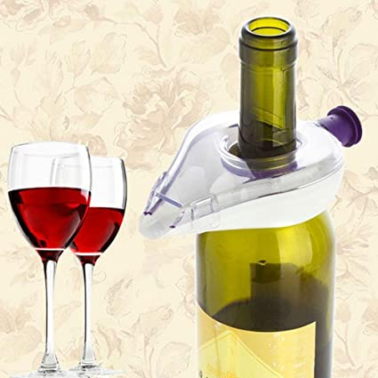 Red Wine Accessories Wine Pour Filter Pourer Aerating Decanter Wine Decanter