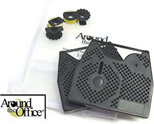 Around The Office Compatible Smith Corona Typewriter Ribbon & Correction Tape for XL 2000.This Package Includes 2 Typewriter Ribbons and 2 Lift Off Tapes