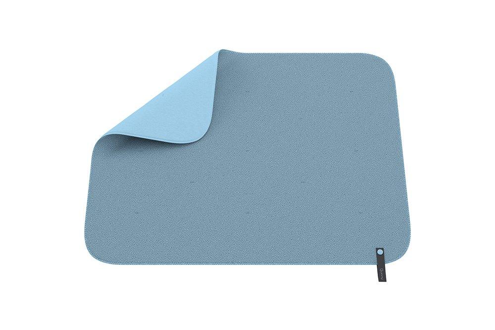 einfache Befestigung am Rahmen des Kinderwagens Wendedecke f/ür einen neuen Look Quinny Decke f/ür Kinderwagen und Babyschalen hellblau