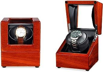 Caja Relojes Automaticos Enrollador automático de reloj Interruptor en el sentido de las agujas del reloj o en sentido contrario a las agujas del reloj: 5 programas de temporizador Movimiento del moto: