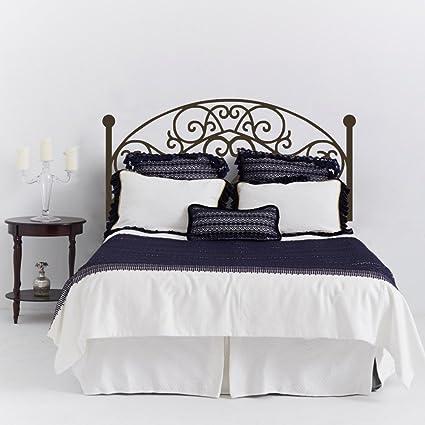 Mairgwall Adhesivo de pared con diseño de cabecero para cama ...
