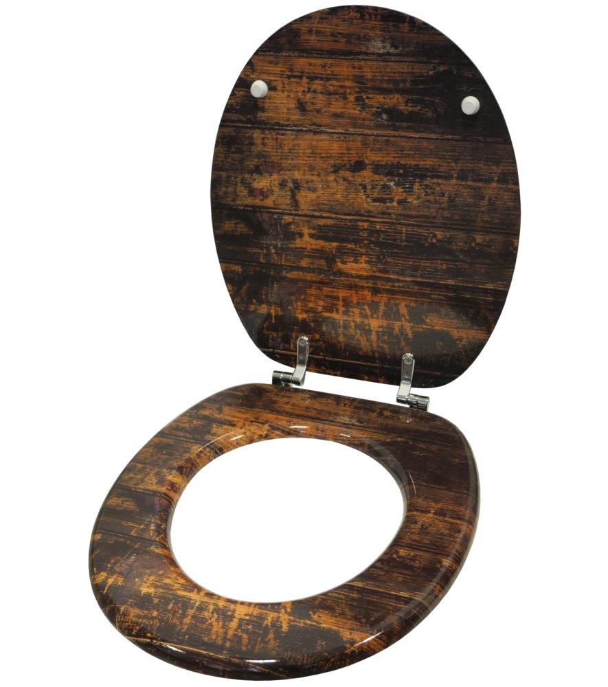 World Map hochwertige Oberfl/äche WC Sitz stabile Scharniere leichte Montage viele neue WC Sitze zur Auswahl