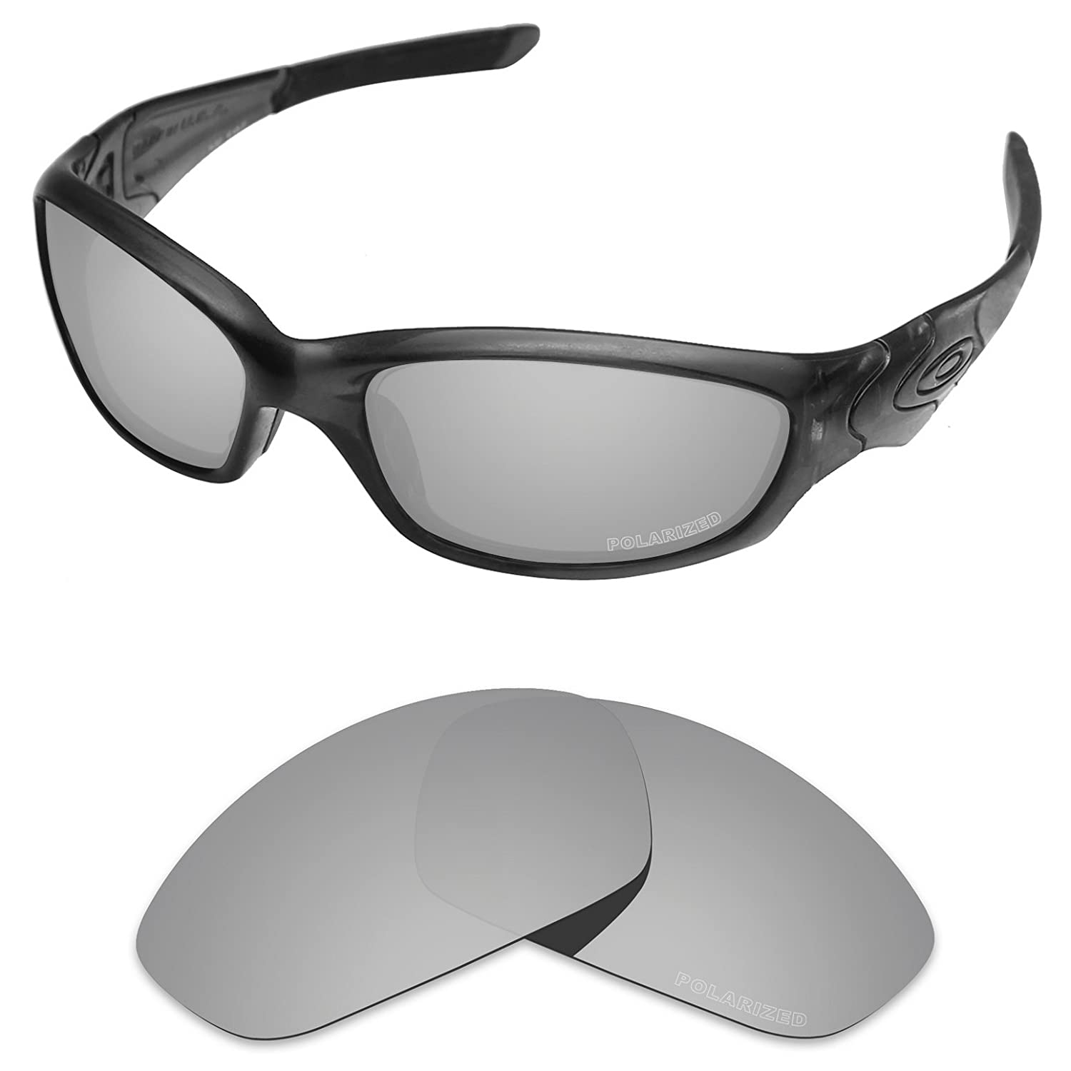 a60eab80739b9 Tintart Performance Replacement Lenses for Oakley Straight Jacket 2007  Sunglass Polarized Etched STR171BLACK13 larger image