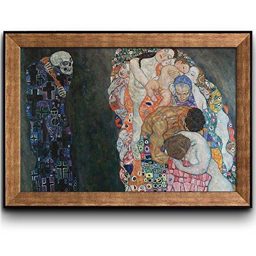 Death and Life by Gustav Klimt Framed Art