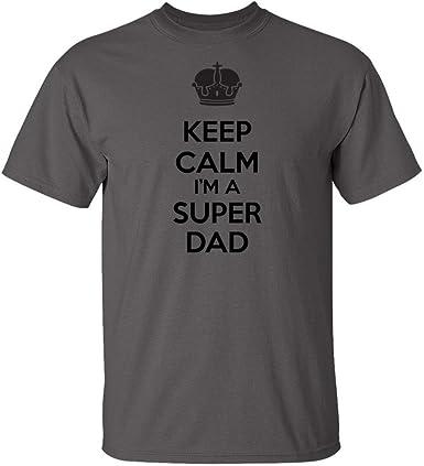Keep Calm Going to be Grandpa Indigo Blue Adult T-Shirt