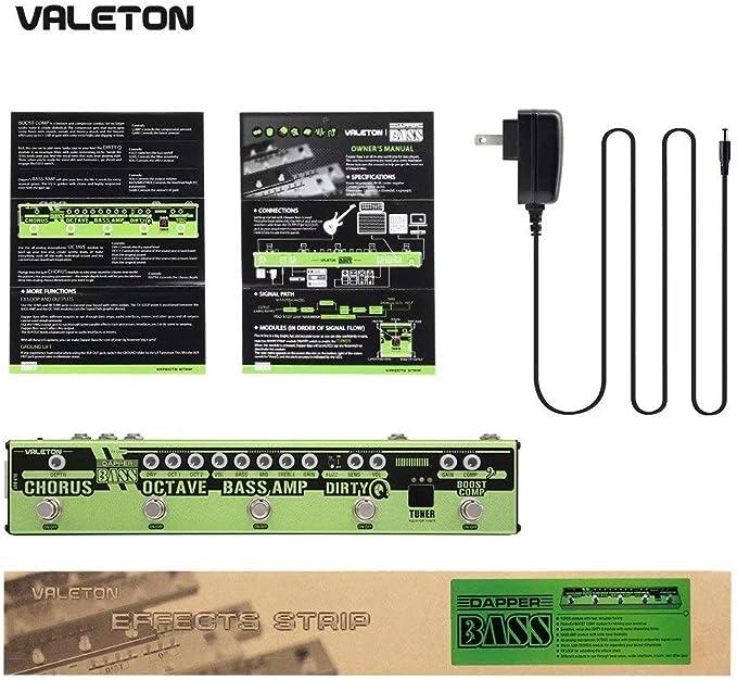 Valeton VES3 Dapper Bass Effects Strip Pedal