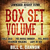 The Chronicles of Lawmaker August Flynn: Box Set, Volume 1, Books 1-5 | Bill C Cannon