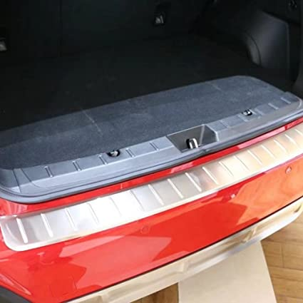 Amazon com: Kadore Stainless Stee Rear Bumper Inside and
