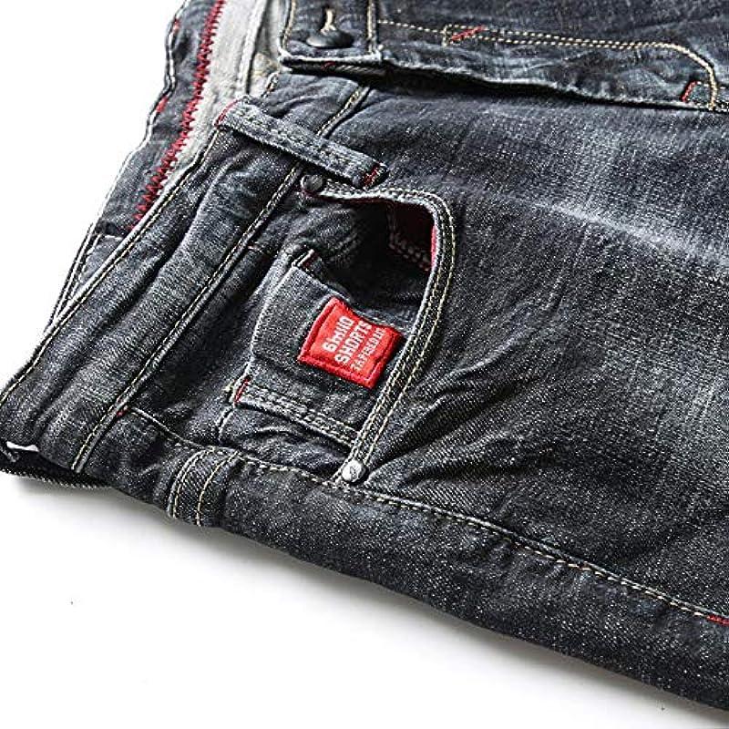YANGPP Jeans Für Männer Slim Straight Elastic Black Jeans Męskie Jeans Męskie Streetwear Casual Denim Pants, Picture Color, 29: Sport & Freizeit